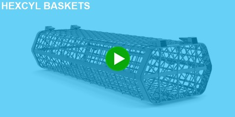 Click here to go to Hexcyl Oyster Baskets
